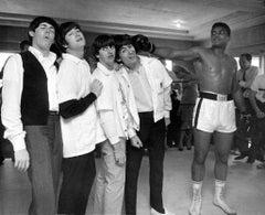 Ali Hits George by Harry Benson