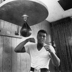 Ali In Training (1965) - Silver Gelatin Fibre Print