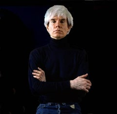 Andy Warhol, color portrait