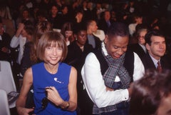 Anna Wintour, Andre Leon Talley, and Patrick McCarthy, Paris