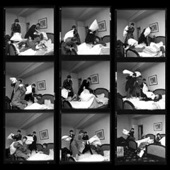Beatles Pillow Fight Times Nine