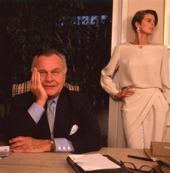 Bill Blass with Josie Borain, New York