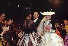 Christian Lacroix with Models, New York