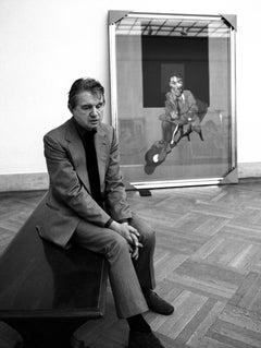 Francis Bacon by Harry Benson