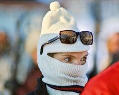 Jackie Kennedy Ski Mask Eyes C-Pt by Harry Benson
