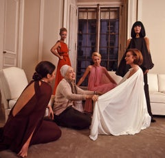 Madame Grès with Models, Paris