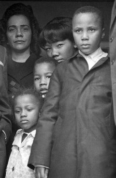 Mrs. Martin Luther King, Jr. and Family, Atlanta