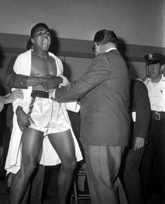 Muhammad Ali at Ali/Liston Weigh-In, Miami