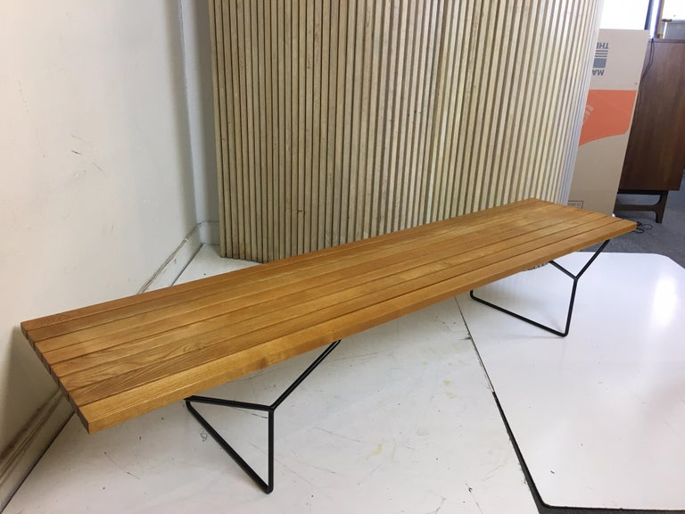 Harry Bertoia Bench for Knoll For Sale 4