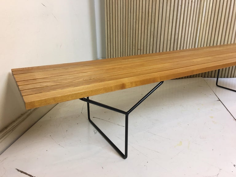 Harry Bertoia Bench for Knoll For Sale 5