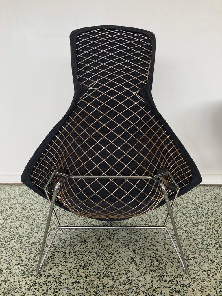Harry Bertoia Bird Chair and Ottoman  5