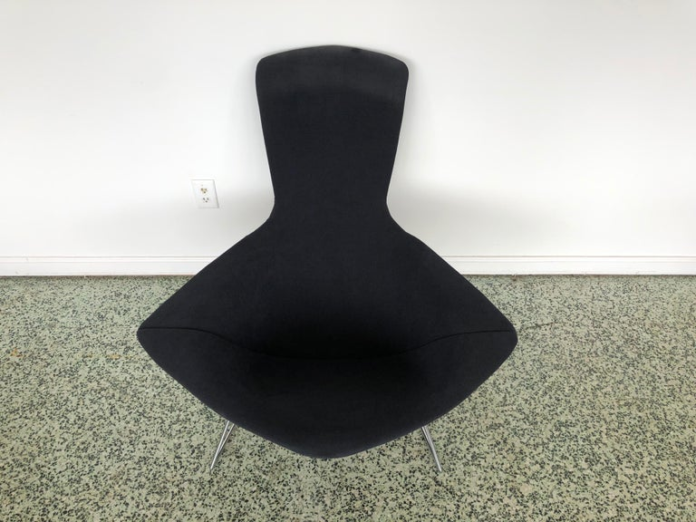 Harry Bertoia Bird Chair and Ottoman  In Good Condition In St. Louis, MO