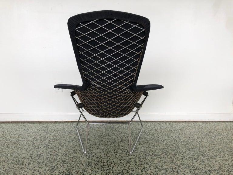 Late 20th Century Harry Bertoia Bird Chair and Ottoman