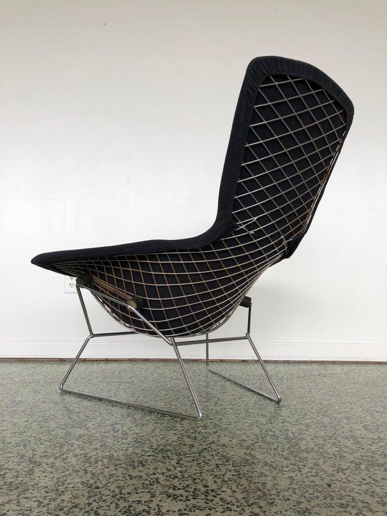 Harry Bertoia Bird Chair and Ottoman  1