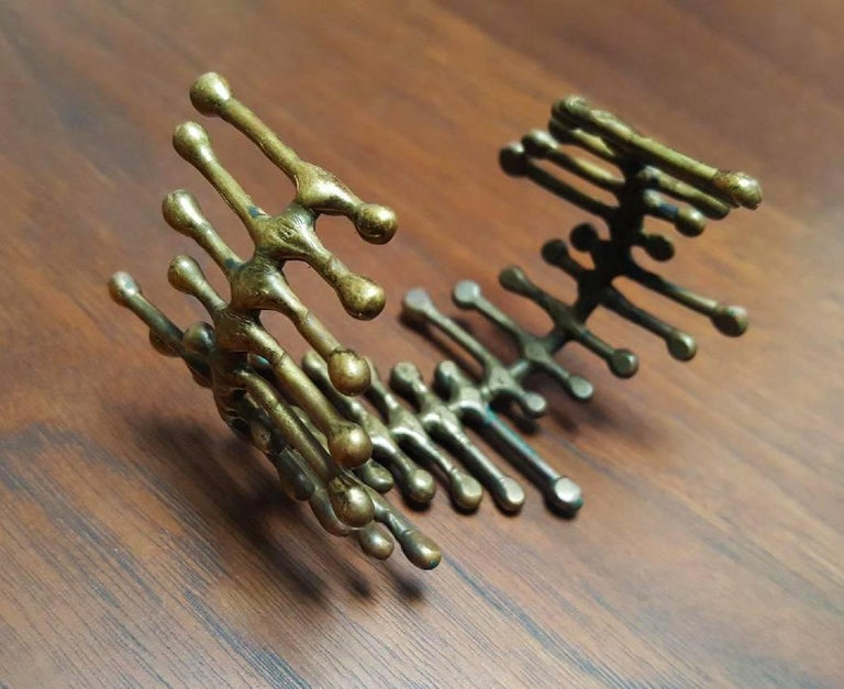 20th Century Harry Bertoia Bracelet Sculpted and Worn by Harry Himself  For Sale