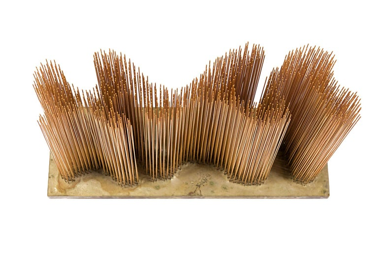 Harry Bertoia Brass and Bronze Sonambient Sculpture, USA, 1966 For Sale 1