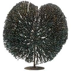 Harry Bertoia Bronze Bush Sculpture, USA, 1970s