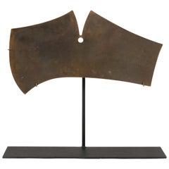 Harry Bertoia Bronze Gong Sculpture, USA, 1960s
