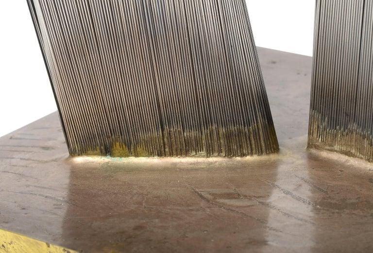 Stainless Steel Harry Bertoia Bundled Wire Sculpture