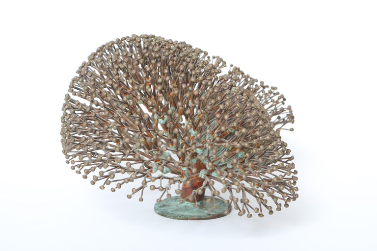 Harry Bertoia Bush Form Sculpture In Good Condition For Sale In West Palm Beach, FL