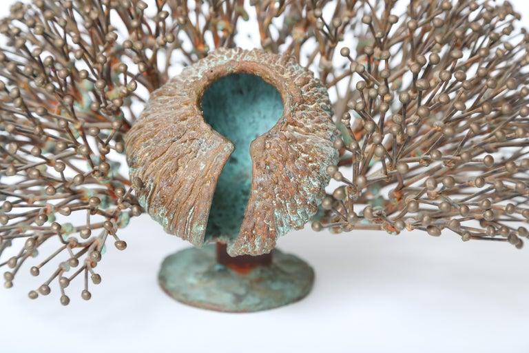 Mid-20th Century Harry Bertoia Bush Form Sculpture For Sale