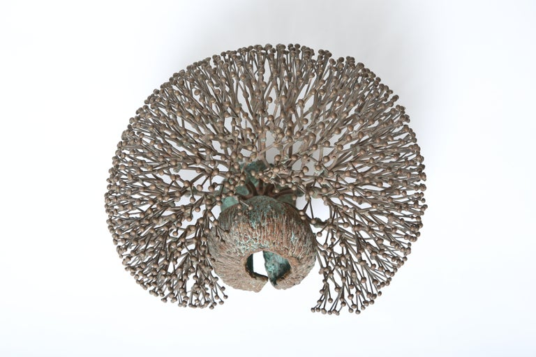 Bronze Harry Bertoia Bush Form Sculpture For Sale