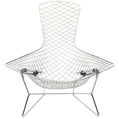 Harry Bertoia Chrome Bird Chair