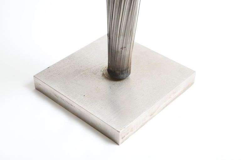 Stainless Steel Harry Bertoia Double Wire Spray Sculpture For Sale