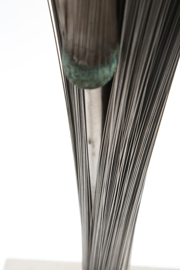 Harry Bertoia Double Wire Spray Sculpture For Sale 1