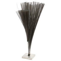 Harry Bertoia Double Wire Spray Sculpture