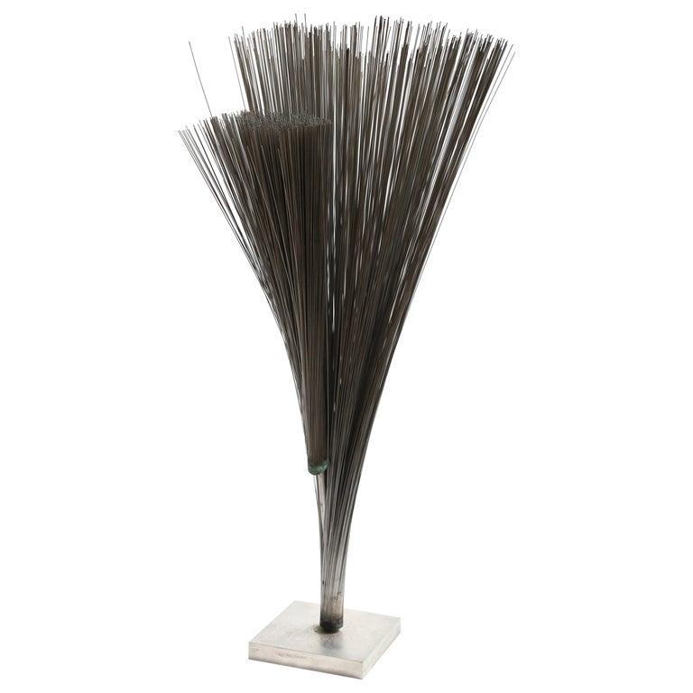 Harry Bertoia Double Wire Spray Sculpture For Sale