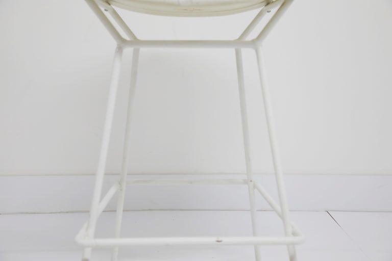 Harry Bertoia for Knoll Associates Molded Shell Stool, Signed First Generation For Sale 3