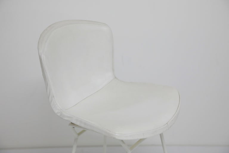Harry Bertoia for Knoll Associates Molded Shell Stool, Signed First Generation For Sale 4