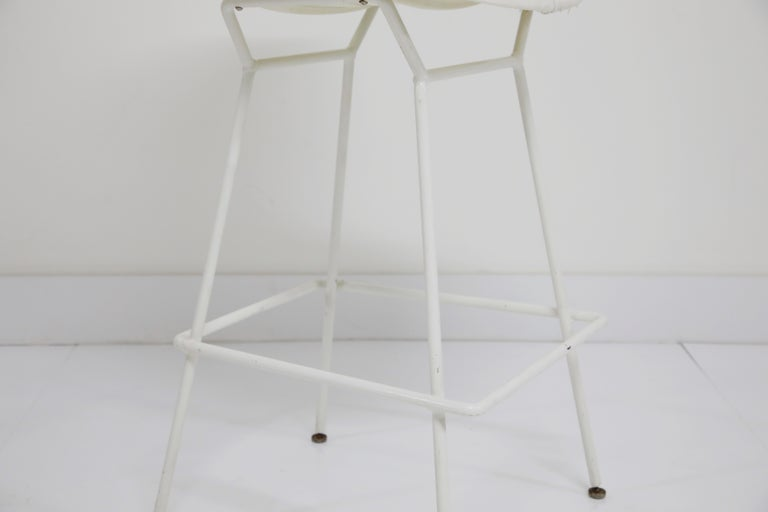 Harry Bertoia for Knoll Associates Molded Shell Stool, Signed First Generation For Sale 5
