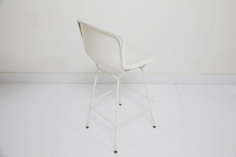 Harry Bertoia for Knoll Associates Molded Shell Stool, Signed First Generation For Sale 6