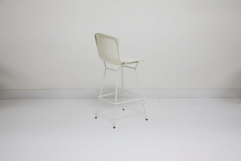 Harry Bertoia for Knoll Associates Molded Shell Stool, Signed First Generation In Good Condition For Sale In Los Angeles, CA