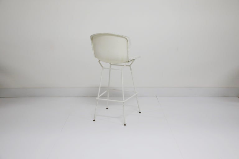 Mid-20th Century Harry Bertoia for Knoll Associates Molded Shell Stool, Signed First Generation For Sale