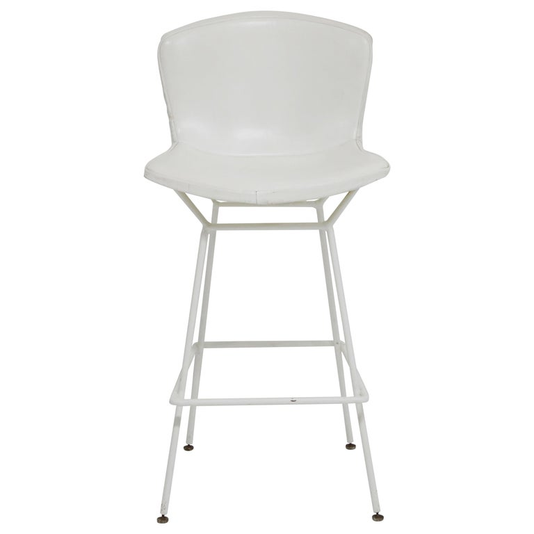 Harry Bertoia for Knoll Associates Molded Shell Stool, Signed First Generation For Sale