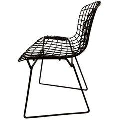 Harry Bertoia for Knoll Children's Chair in Black