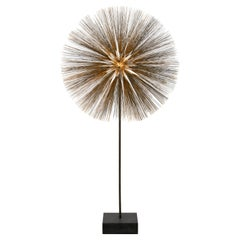 Harry Bertoia Gilt Bronze, Brass and Steel Dandelion Sculpture, USA 1960s