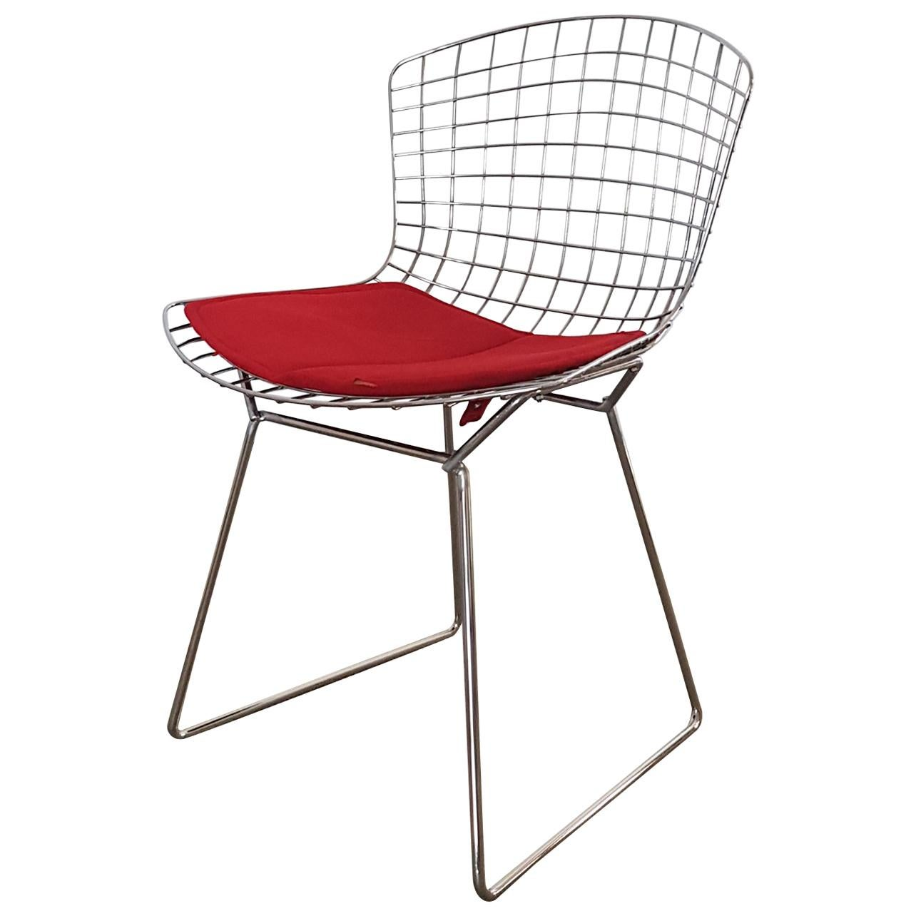 original bertoia side chairs revisited by cl ment brazille for sale  original bertoia side chairs revisited by cl ment brazille for sale at 1stdibs