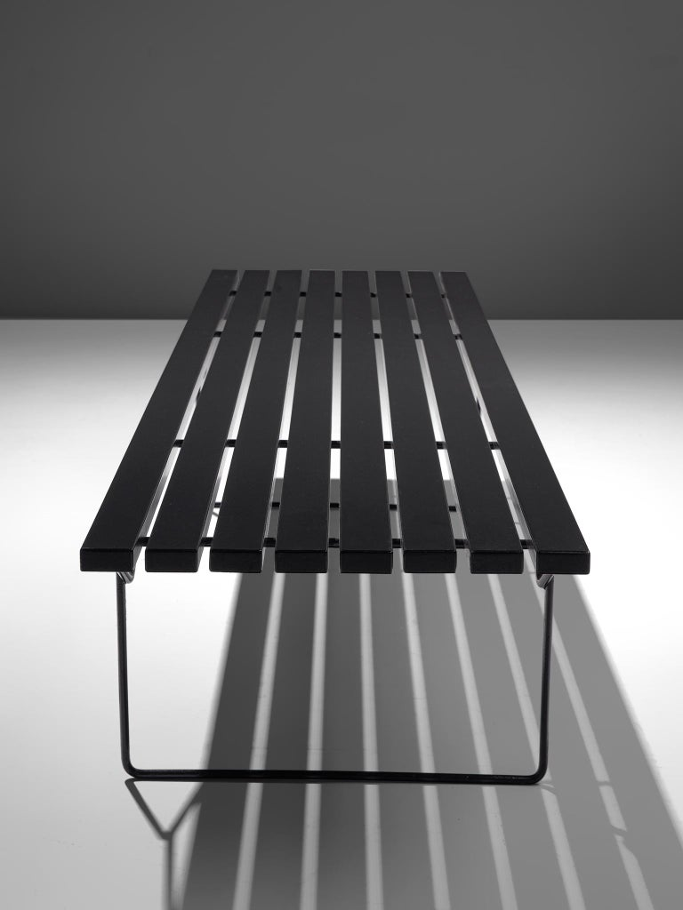 Harry Bertoia Slat Bench for Knoll In Good Condition For Sale In Waalwijk, NL