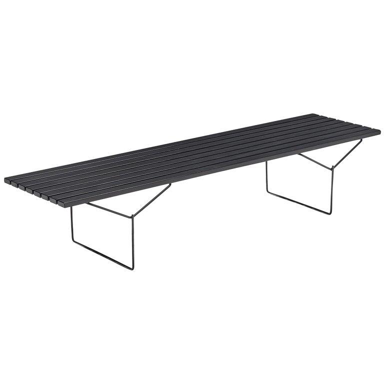 Harry Bertoia Slat Bench for Knoll For Sale