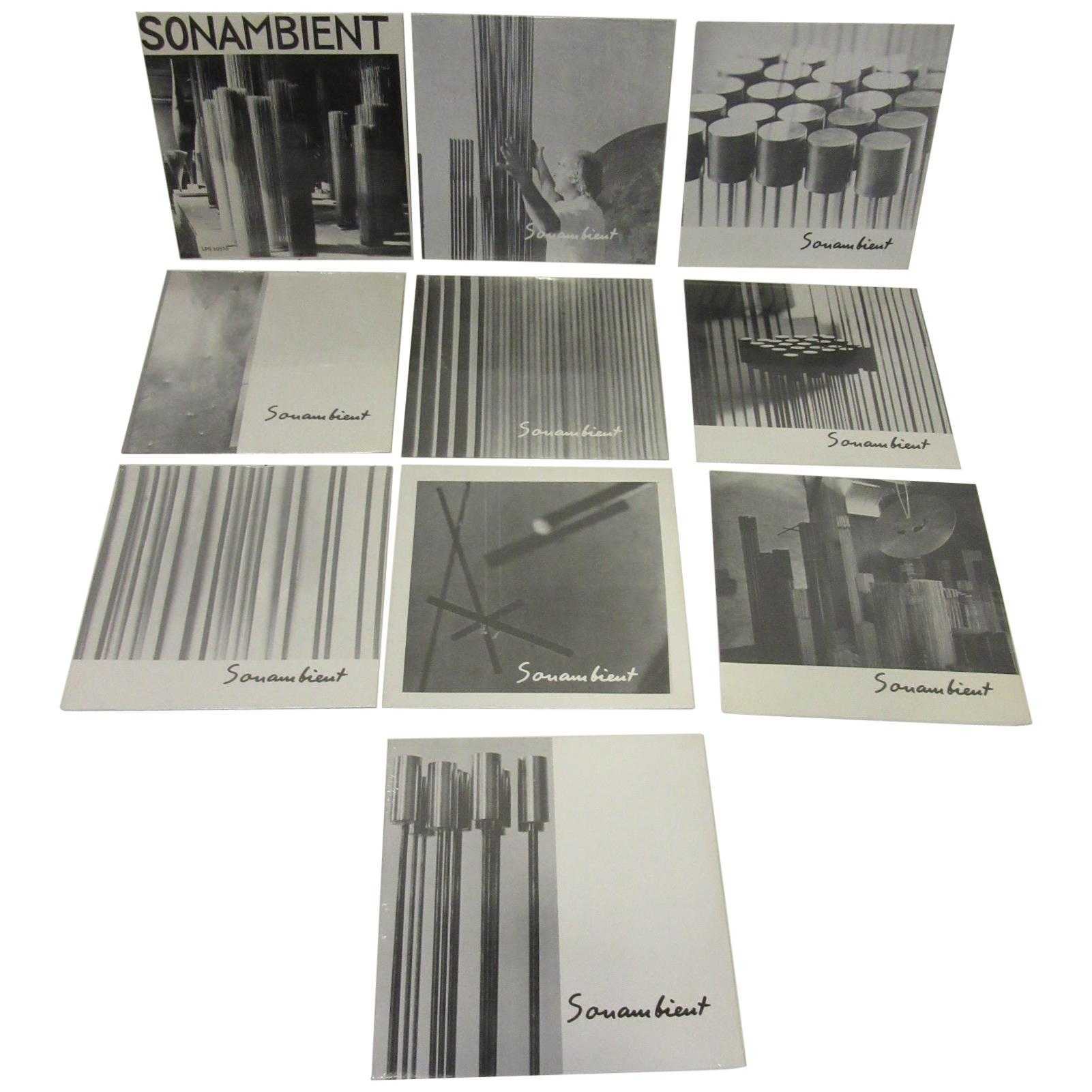 Harry Bertoia Sonambient Sculpture Sound Record Collection