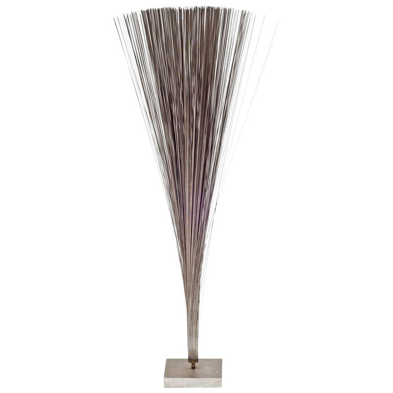 """Harry Bertoia """"Spray"""" Sculpture with COA from Beroia Foundation, USA, 1960s For Sale"""