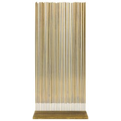 Harry Bertoia Untitled Single Row Cattail Sonambient Sculpture, USA, 1977