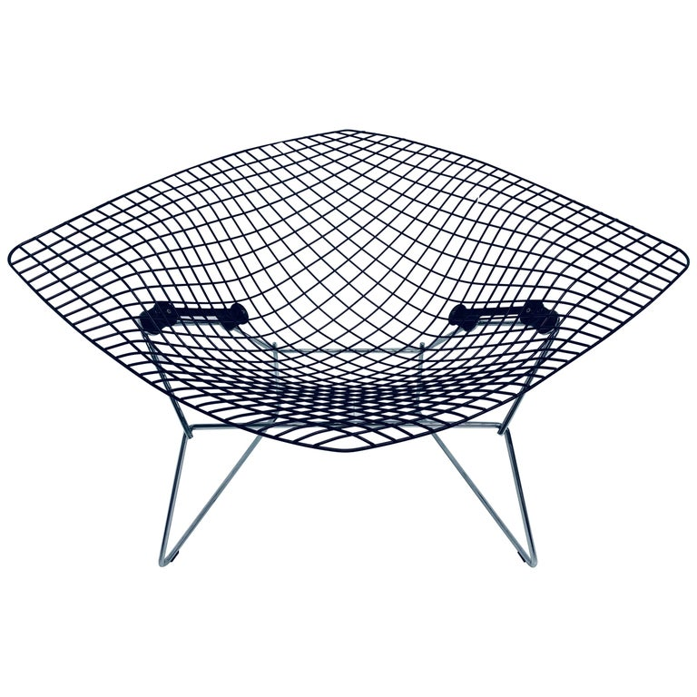 Harry Bertoia for Knoll wide Diamond chair, 1960s, offered by That Galerie, Inc.