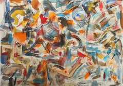 Abstract Expressionist Composition, 1990