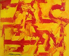 Untitled, Red and Yellow, 1990s.
