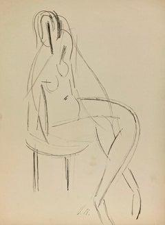 (Seated Figure)